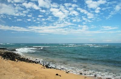 Mahaiula beach.
