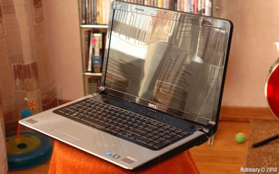 Dell Studio 17 Laptop.
