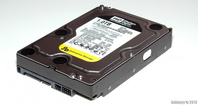 Western Digital RE3 1TB, 7200 RPM, 32MB cache, SATA 3.0Gb/s internal hard drive.