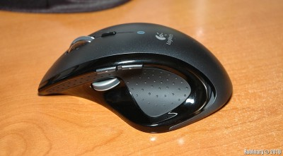 Logitech MX Revolution mouse.