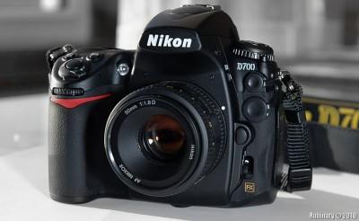 Nikon D700.