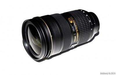 Nikon AF-S NIKKOR 24-70mm f/2.8G ED lens.