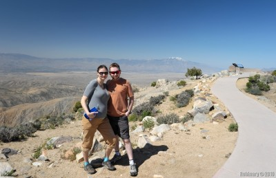 One of the overlooks in Joshua Tree National Park.