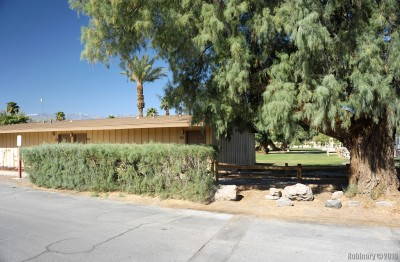 Our cabin at Furnace Creek Ranch.