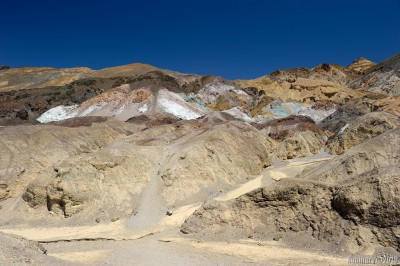 Artist's Palette in Death Valley National Park.