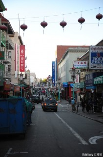 Chinatown near our hotel.