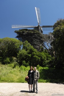 Windmill in Golden Gate Park.