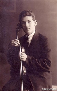 Leonid Aronovich (Levi Yitzhak). My grandfather. He's 17 years old here. 1929.