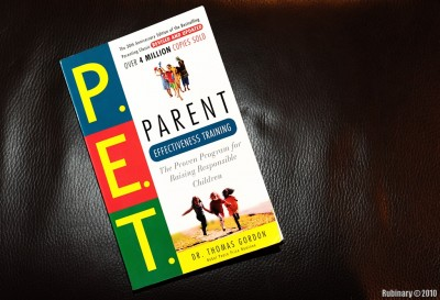 Parent Effectiveness Training book.