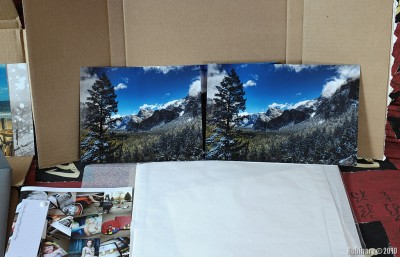 Side by side prints from Mpix Pro (left) and Mpix (right).