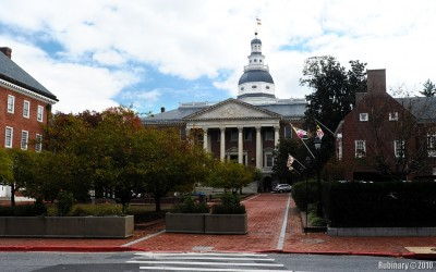 Maryland State Capitol in Annapolis.