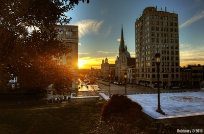 Harrisburg Downtown.