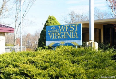 West Virginia Welcome Center.