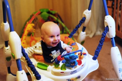 Jumperoo joy!
