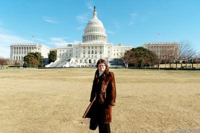 Alena's mama in DC.