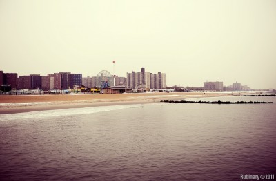 Coney Island.