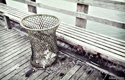 Trash Urn.
