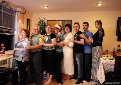 Everyone, but Aroshka. Big family.