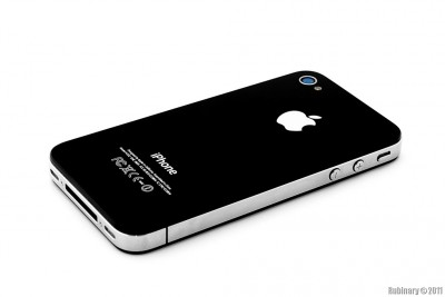 iPhone 4. Black.