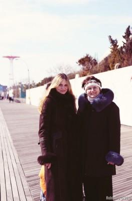 My mom and I, 2011.