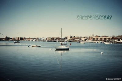 Sheepshead Bay canal.