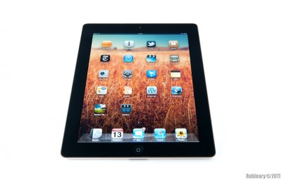 Black 32GB Wi-Fi only iPad 2.