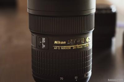 Nikkor 24-70mm f/2.8 lens.