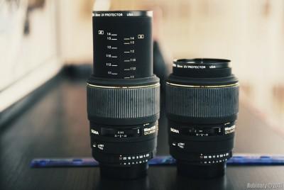 Sigma 105mm EX DG Macro lens.