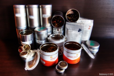 Our tea collection.
