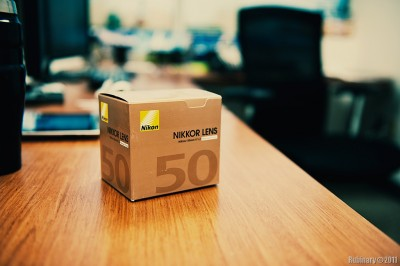 Box from 50mm f/1.2 lens.
