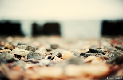 Pebbles. Taken at f/1.2.