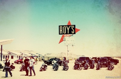 Roy's Motel and Cafe. Amboy, California.