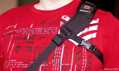 RS-Sport camera strap.
