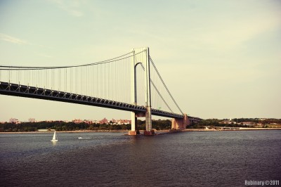 Verrazano Bridge.