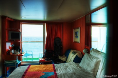 Parents' stateroom.
