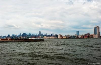New York skyline from Jersey City.