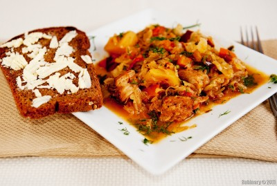 Bigos — Polish Hunter Stew.