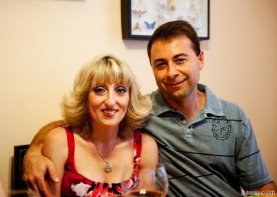 Zhanna and Marat.
