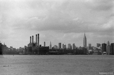 Manhattan skyline from Williamsburg.