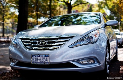 Hyundai Sonata SE.