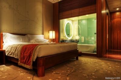 Our room in Conrad Tokyo.