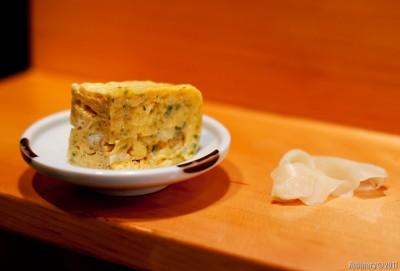 Japanese omelet.