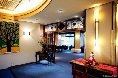 Nishiyama Ryokan. Lobby.