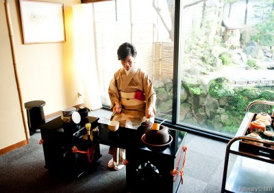 Tea ceremony.