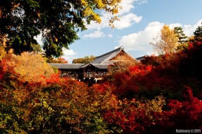 Tofukuji Temple.