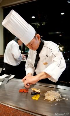 Teppanyaki chef.