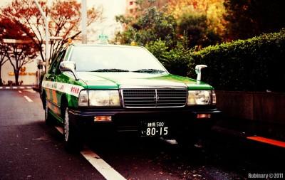 Tokyo taxi.