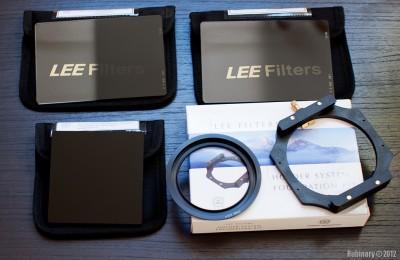 LEE filter set.