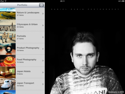 Portfolio for iPad.