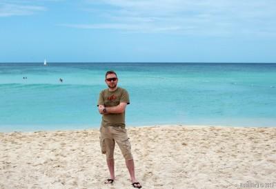Daniel near the sea.